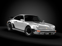 1989 Porsche 911 (930) Turbo 3D Model