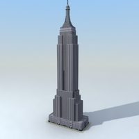 EmpireState_3DSModel 3D Model