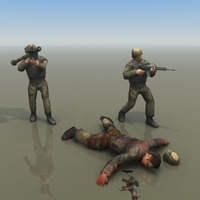 Bundeswehr_Infantry 3D Model