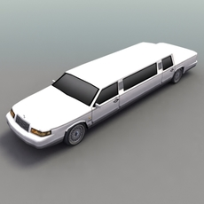 Stretch_Limo_Luxury 3D Model