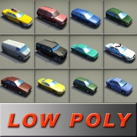 12-VehiclePack-A_3DModels 3D Model