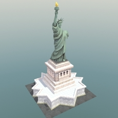 Statue-of-Liberty_NYC 3D Model