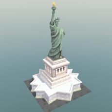 Statue-of-Liberty_NYC 3D Model