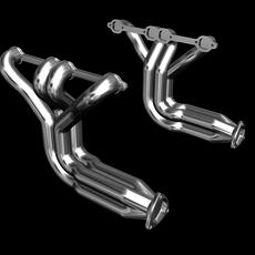 Exhaust Headers for Street Rod 3D Model