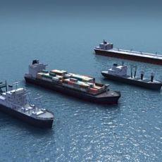4Civilian-Ships_3DModels 3D Model