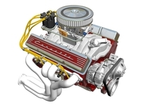 Chevrolet Small-Block V8 Engine 3D Model