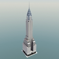 Chrysler Building NYC 3D Model