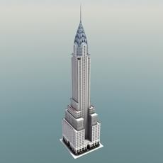 Chrysler Building NYC 3D Model