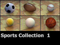 SportsCollection-3DModels 3D Model