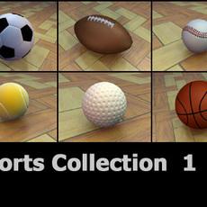 SportsCollection-3DModels 3D Model