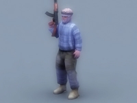 Terrorist_3DGameModel 3D Model