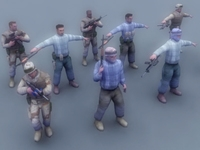 US-GI+Iraqi-Insurgent_GameModels 3D Model