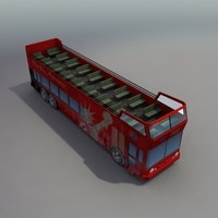 CityTourBus_3DModel 3D Model