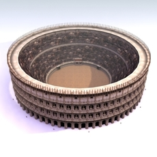 Roman_Colosseum 3D Model