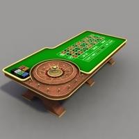 RouletteTable_3Dmodel 3D Model