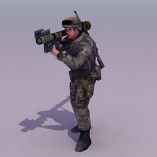 BW-Stinger_Infantry_3DSMaxModel 3D Model