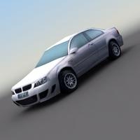 BMW_ExecSports_3DModel 3D Model