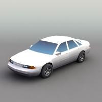 GenSedan_3DModel 3D Model