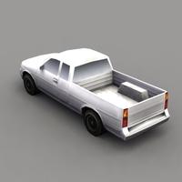 GenPickup_3DGameModel 3D Model