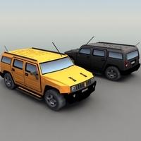 H2_Hummer_3DModel 3D Model