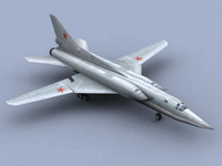TU22-Bomber_GameModel 3D Model