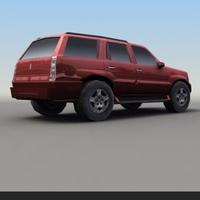SUV-A_4x4_3DGameModel 3D Model