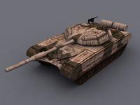 T72-MBT_3DModel 3D Model
