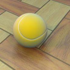 Tennisball 3D Model 3D Model