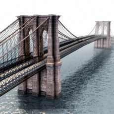 Brooklyn Bridge 3D Model 3D Model
