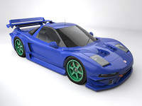 Honda NSX Raybridge 3D Model