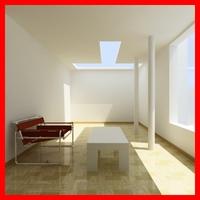 Interior Lighting Setups Pack 3D Model