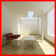 Interior Lighting Setups Pack 3D Model