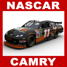Nascar COT Stock Car - Denny Hamlin Camry 3D Model