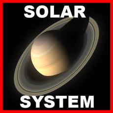 Planets - Solar System Pack 3D Model