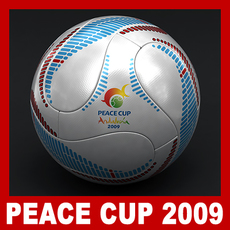 Teamgeist Official Andalucia 2009 Peace Cup Ball 3D Model