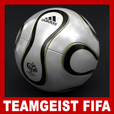 Teamgeist Official Germany 2006 FIFA World Cup Ball 3D Model