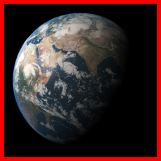 The Earth 3D Model