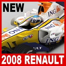 2008 F1 ING Renault R28 3D Model