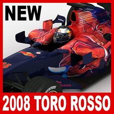 2008 F1 Scuderia Toro Rosso STR3 3D Model