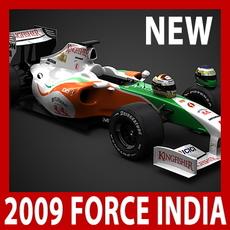 2009 F1 Force India VJM02 3D Model