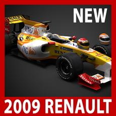 2009 F1 ING Renault R29 3D Model