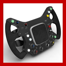 Generic F1 Steering Wheel Replica 3D Model