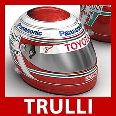 Jarno Trulli F1 Helmet 3D Model