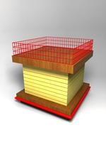Dump Bin 3D Model