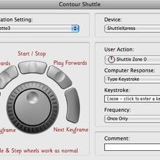 Shuttle Xpress settings for Silhouette v3 0.0.1
