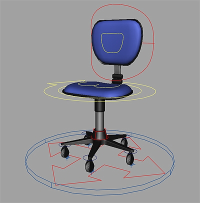 Fabulous Office Chair Rig For Maya Inzonedesignstudio Interior Chair Design Inzonedesignstudiocom
