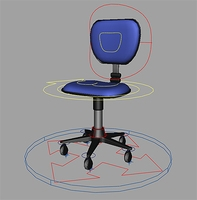 Free Office chair rig for Maya 1.0.0