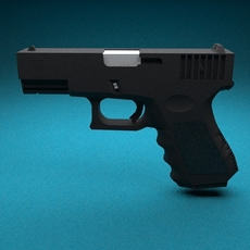 Glock 32C 3D Model