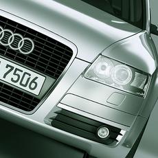 Audi A6 Avant 2005 3D Model