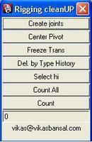 Free Rigging cleanUP for Maya 0.0.1 (maya script)